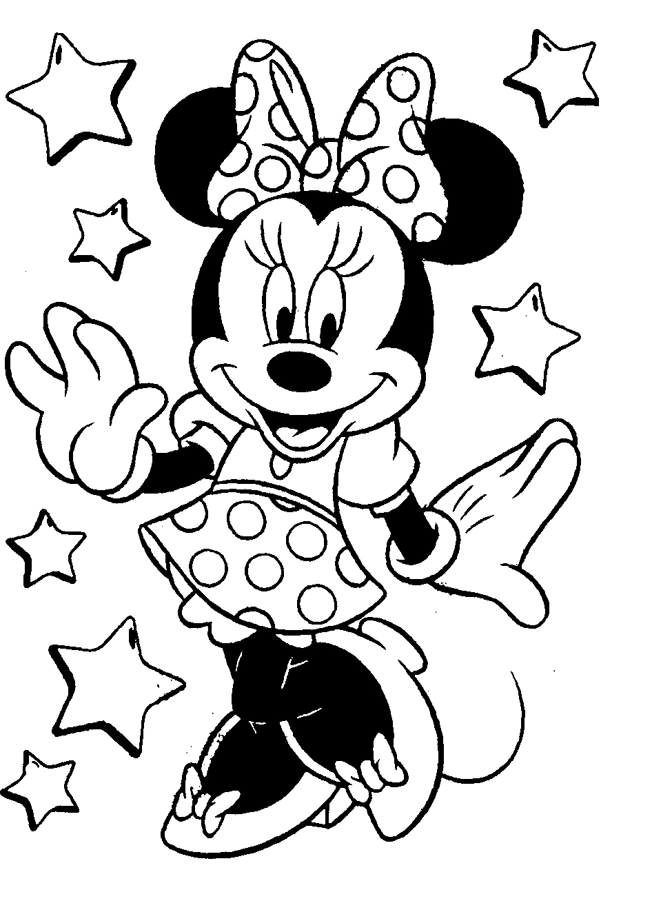 Coloring pages printable mickey mouse