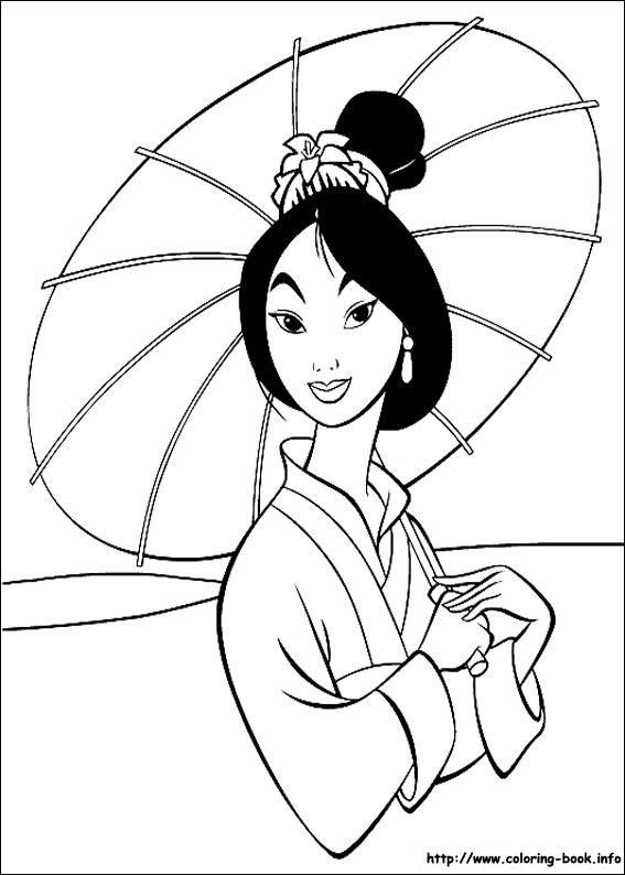 mulan coloring pages,printable,coloring pages