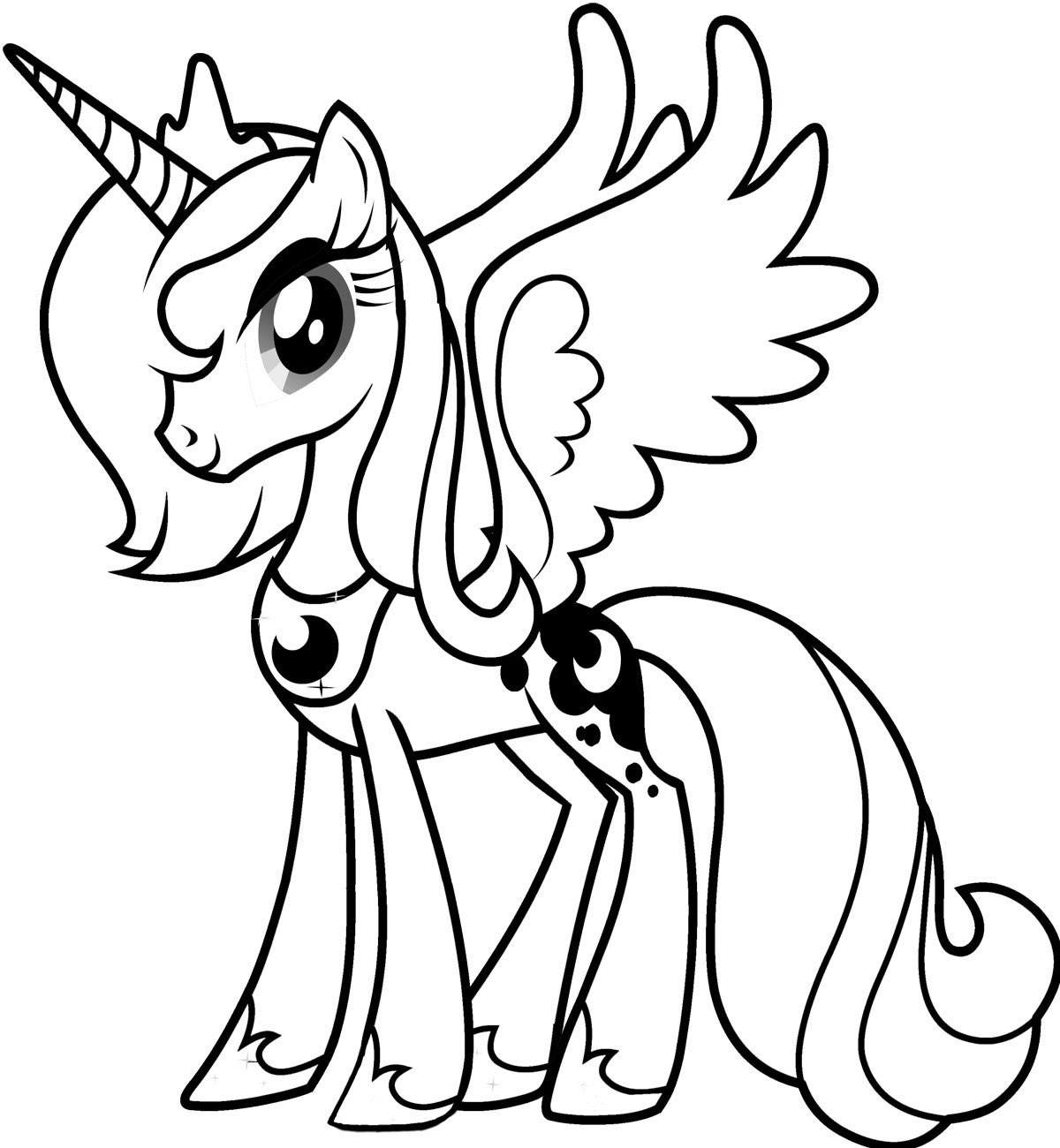 printable my-little-pony coloring pages,printable,coloring pages