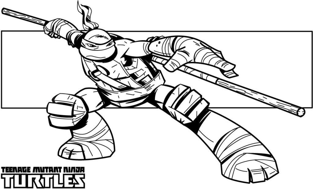 Coloring Pages Of Ninja turtlesprintablecoloring