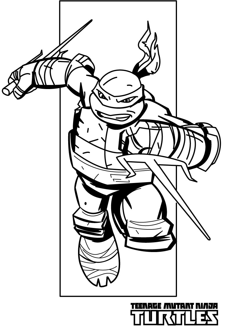 coloring pictures ninja turtlesprintablecoloring pages