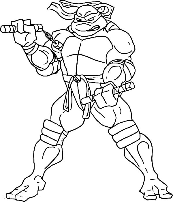 kids coloring pages ninja turtlesprintablecoloring pages