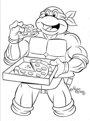 ninja-turtles coloring page,printable,coloring pages