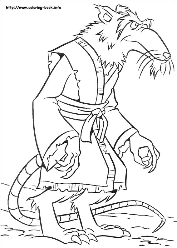ninja turtles coloring page to printprintablecoloring pages