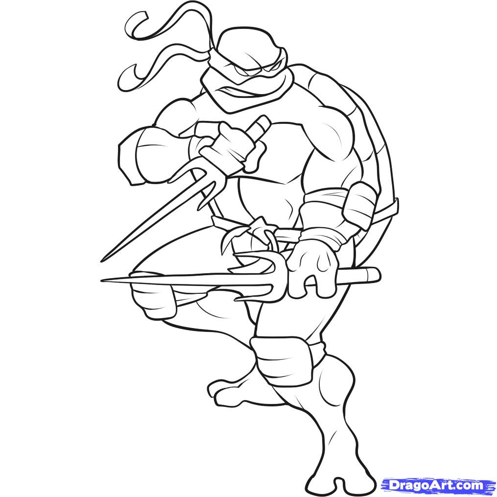 Ninja turtles pages to color - Ninja Turtles Coloring Pages 15 Printable Coloring Pages