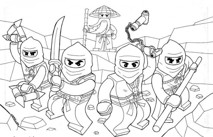 kids coloring pages ninjago,printable,coloring pages
