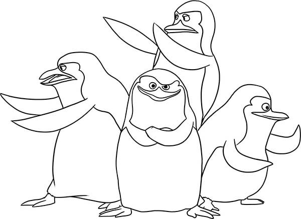 North Pole Friends Penguins Coloring Pages 30 Pictures Penguins Of Madagascar Coloring Pages