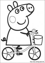 coloring pictures peppa-pig,printable,coloring pages