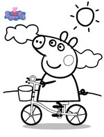 15 peppa pig coloring page to print