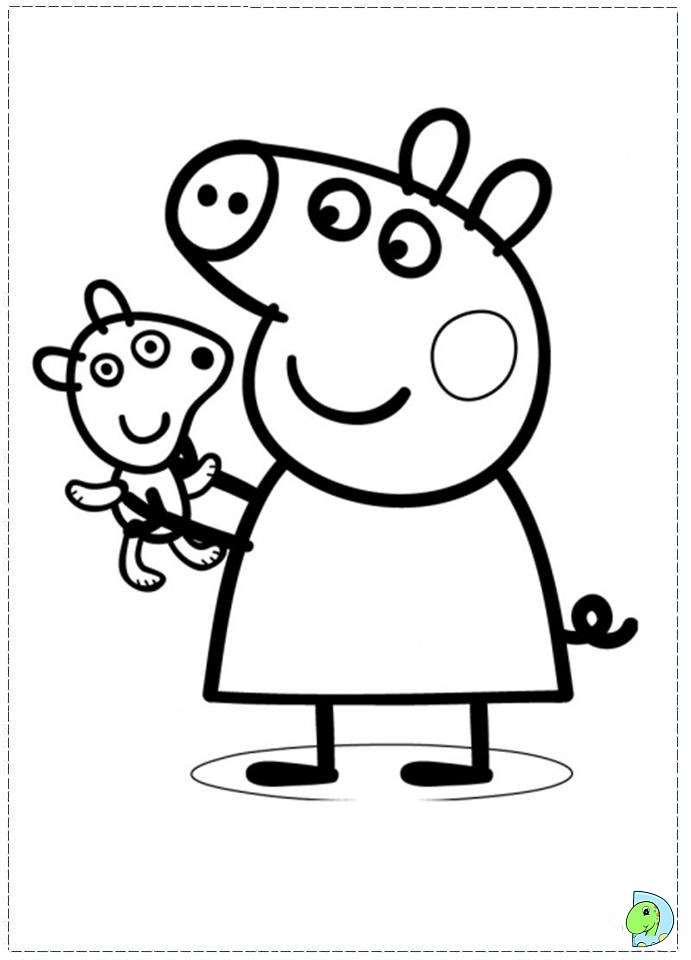 peppa-pig coloring pages printable,printable,coloring pages