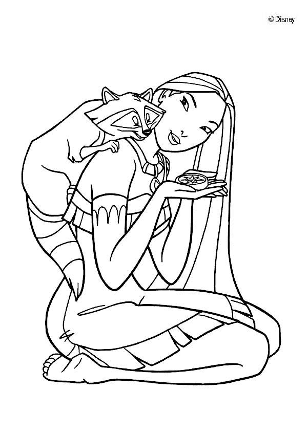 coloring pages of pocahontas,printable,coloring pages