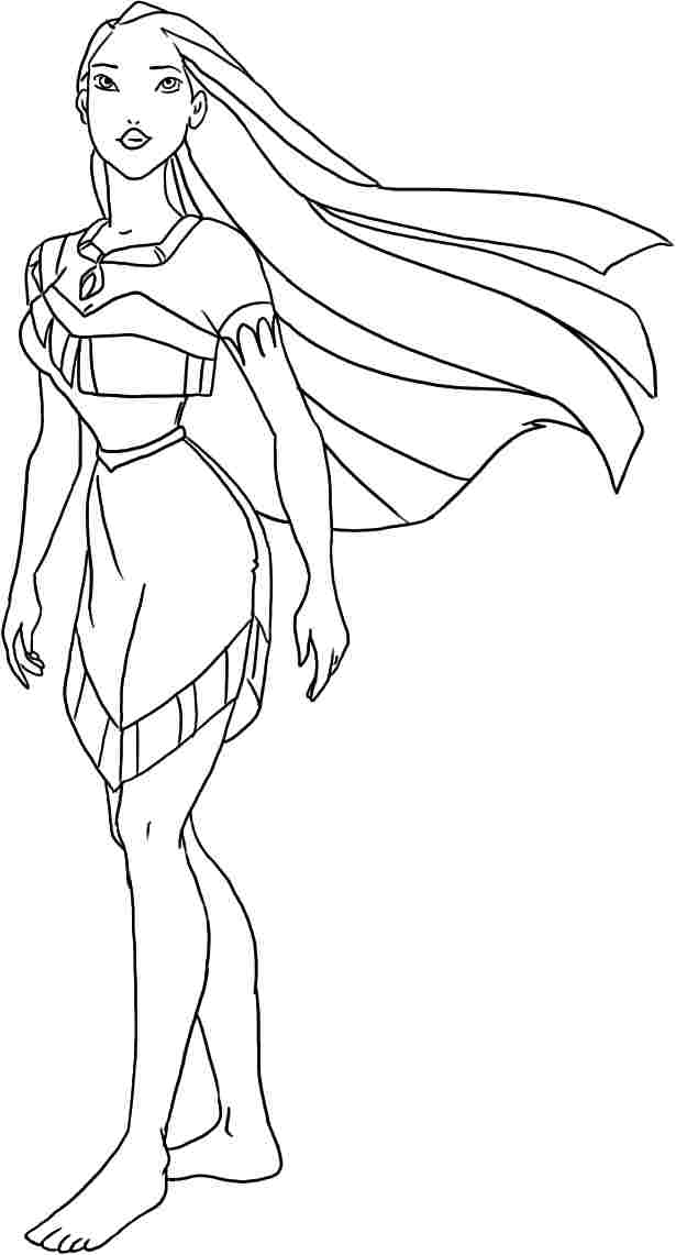 kids coloring pages pocahontas,printable,coloring pages