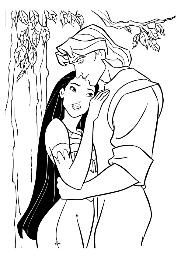 pocahontas coloring pages for kids,printable,coloring pages