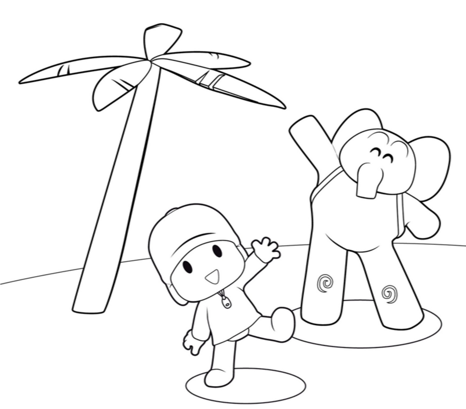 14 pocoyo coloring pages printable print color craft