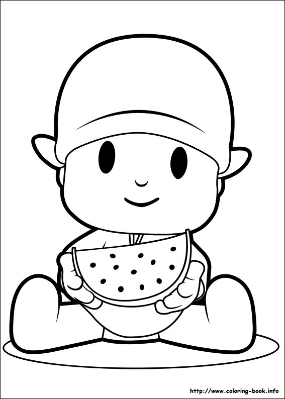 pocoyo coloring pages,printable,coloring pages
