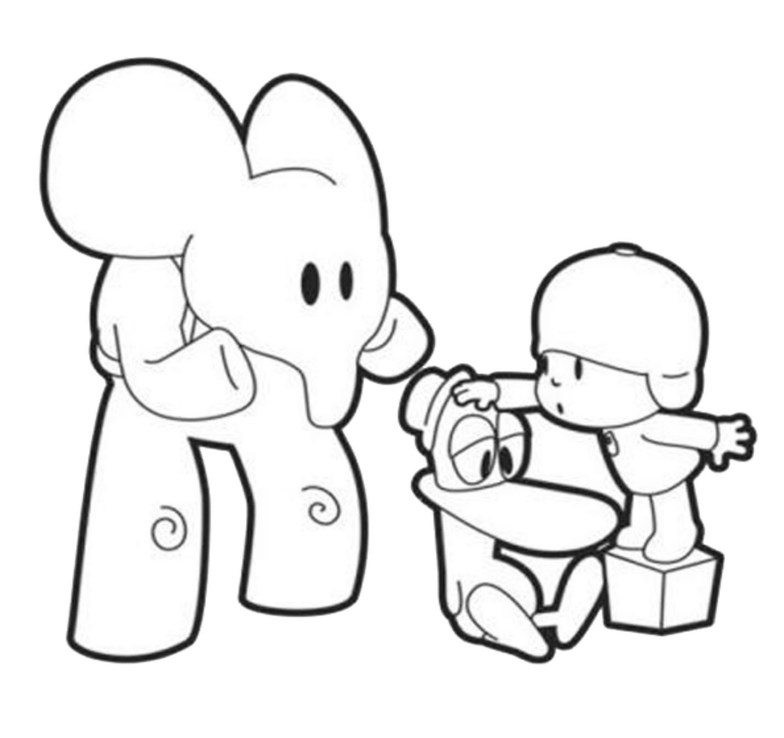 pocoyo coloring pages printable,printable,coloring pages