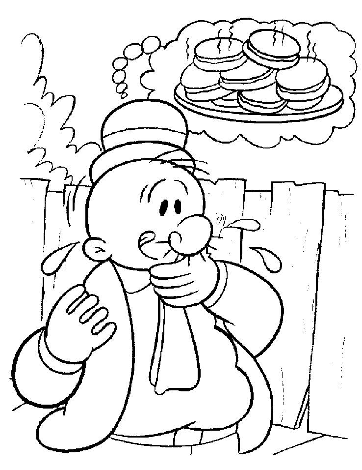 popeye coloring pages 12,printable,coloring pages