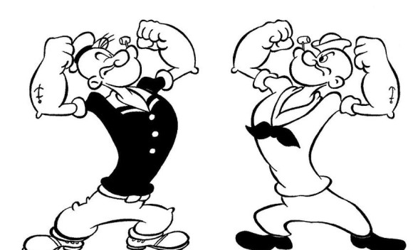 popeye coloring pages 13,printable,coloring pages