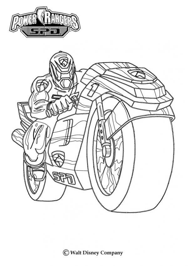 Get the power 15 power rangers coloring pages | Print Color Craft