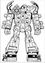 source power rangers samurai red ranger coloring pages with power ...