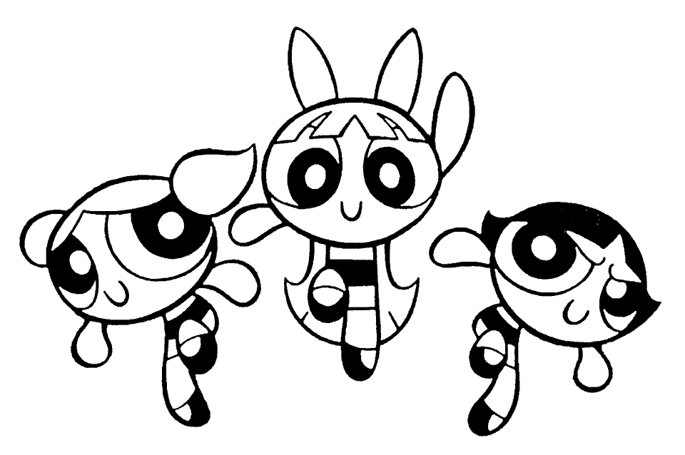 printable powerpuff-girls coloring pages,printable,coloring pages