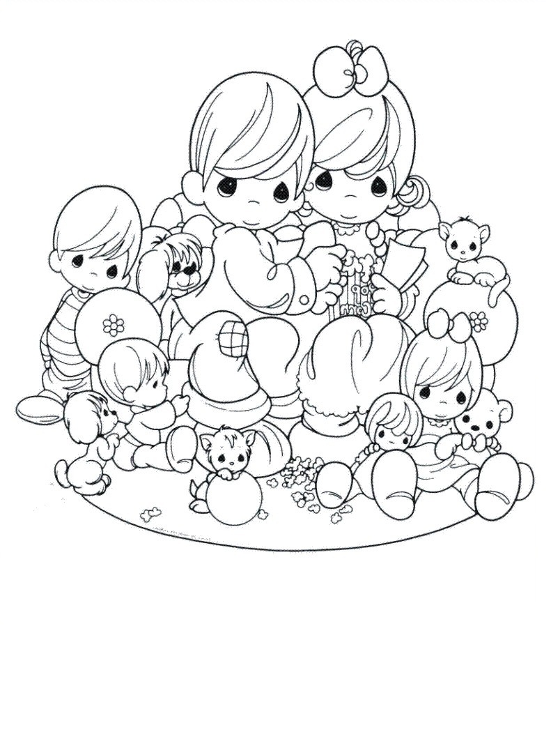 Precious moments coloring pages 11printablecoloring pages