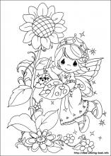 Precious Moments Coloring Pages For Kidsprintablecoloring