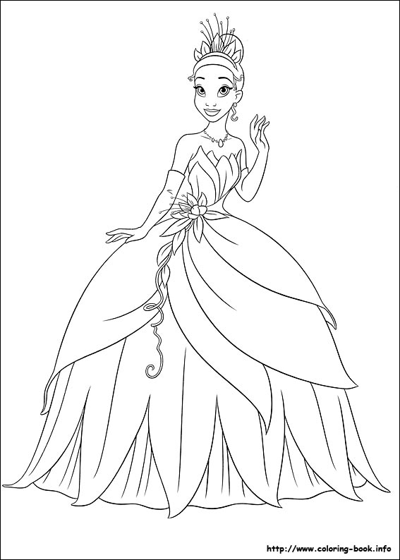 princess-tiana coloring pages,printable,coloring pages