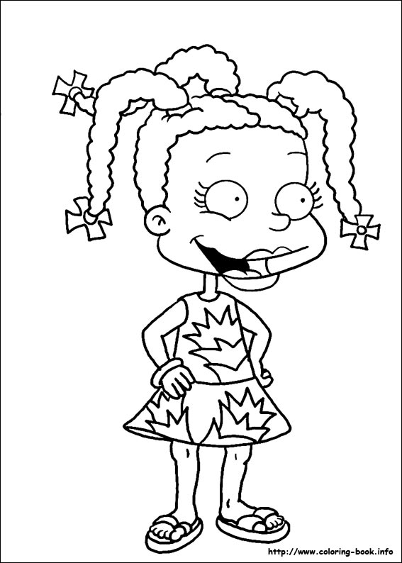 rugrats coloring printable pages - photo#16