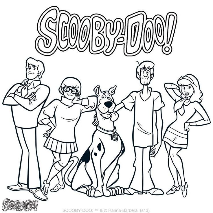 printable scooby-doo coloring pages,printable,coloring pages
