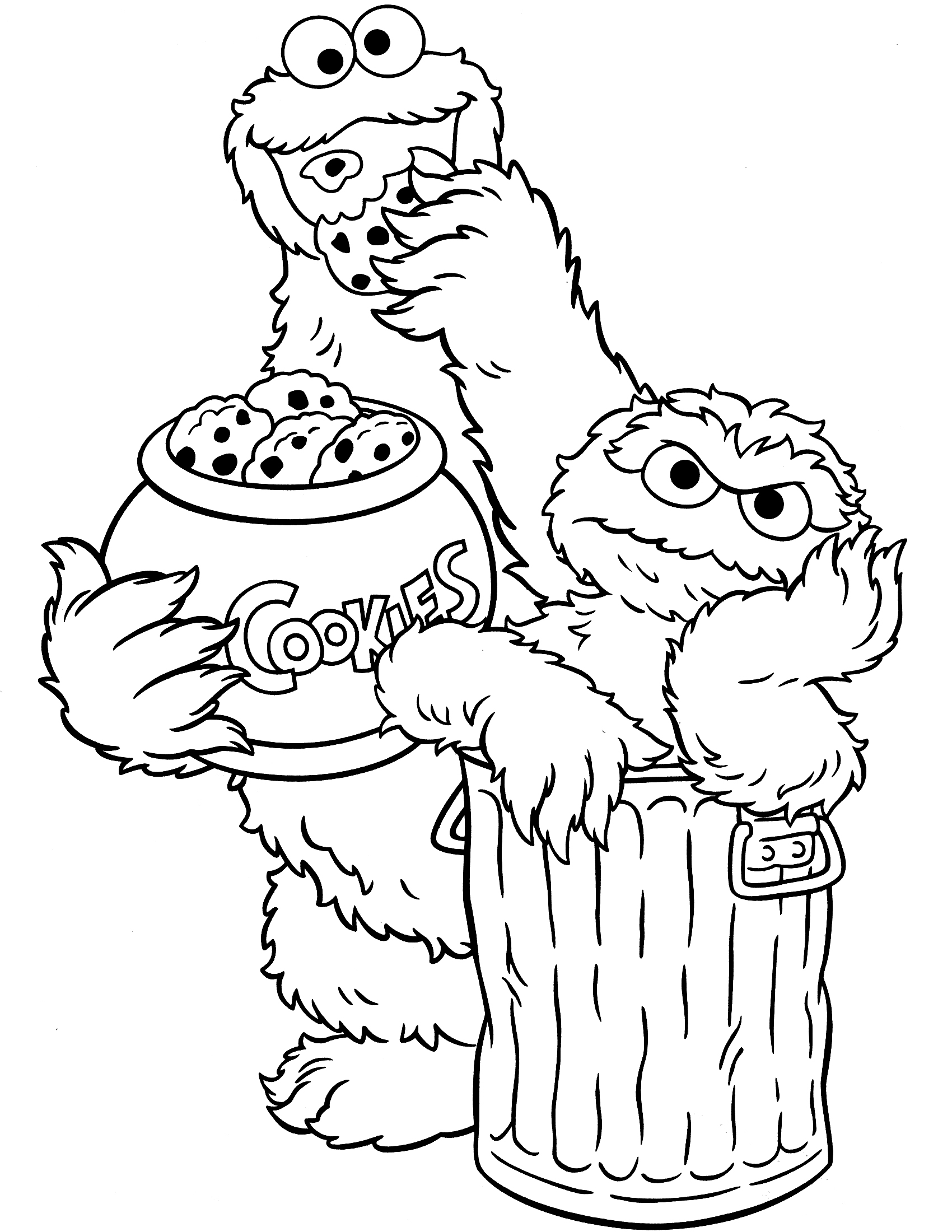 printable sesame-street coloring pages,printable,coloring pages