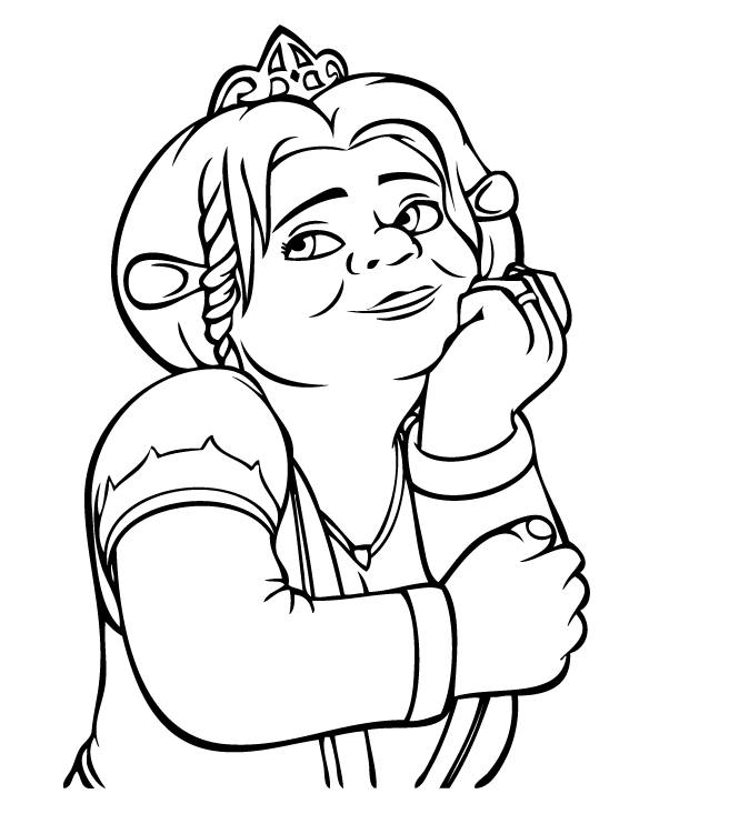 coloring pictures shrek,printable,coloring pages