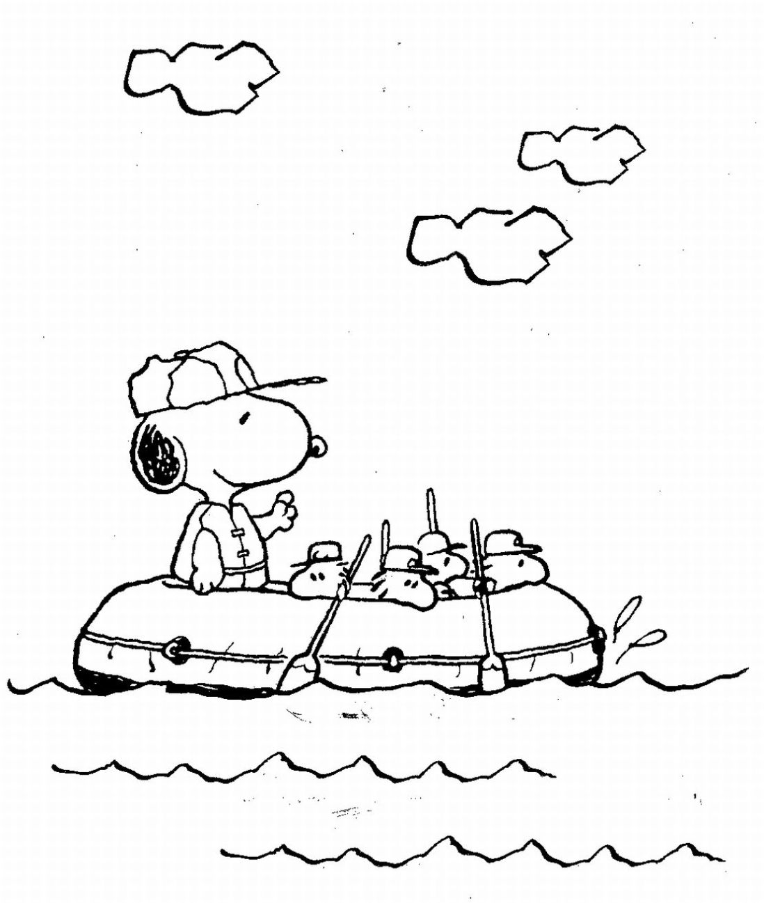 coloring pages of snoopy,printable,coloring pages