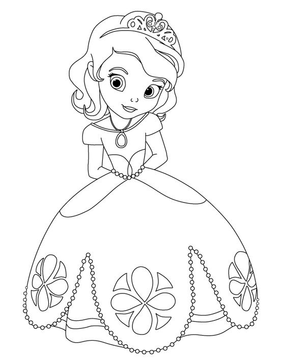 Printable Sofia The First Coloring Pages,printable,coloring Pages