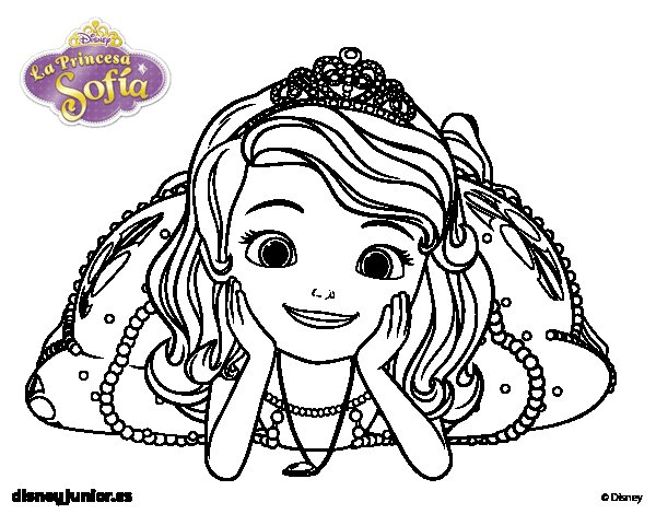 14 sofia the first coloring pages for kids - Print Color Craft