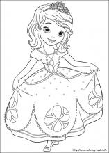 sofia-the-first coloring pages 11,printable,coloring pages