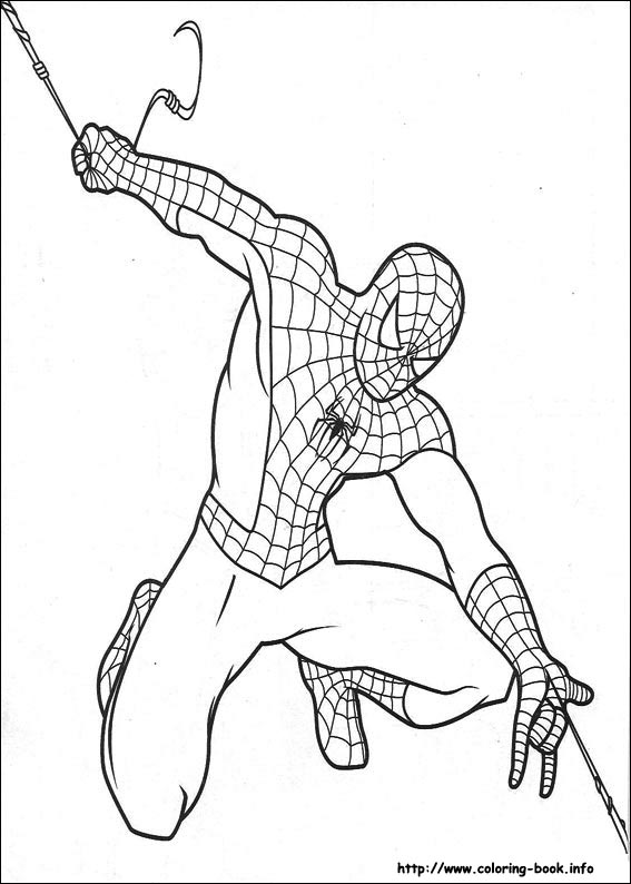 coloring pages of spiderman,printable,coloring pages