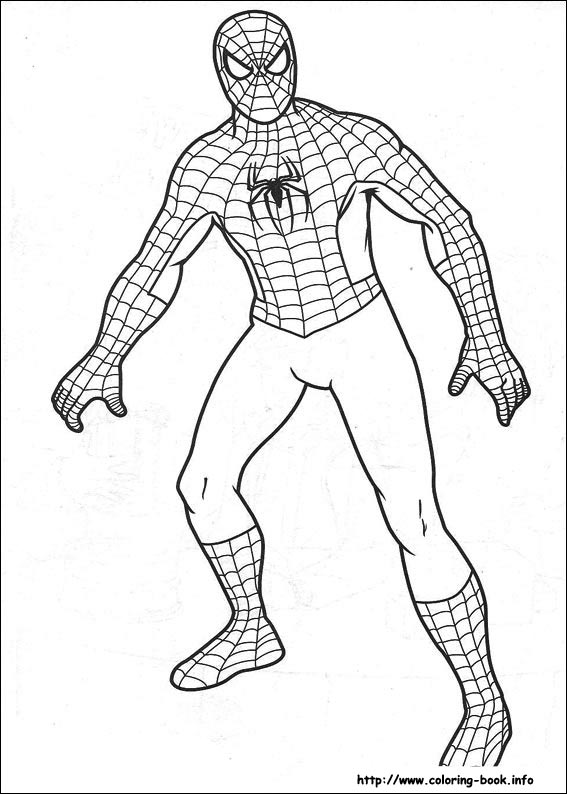 Printable Spiderman Coloring Pagesprintablecoloring Pages