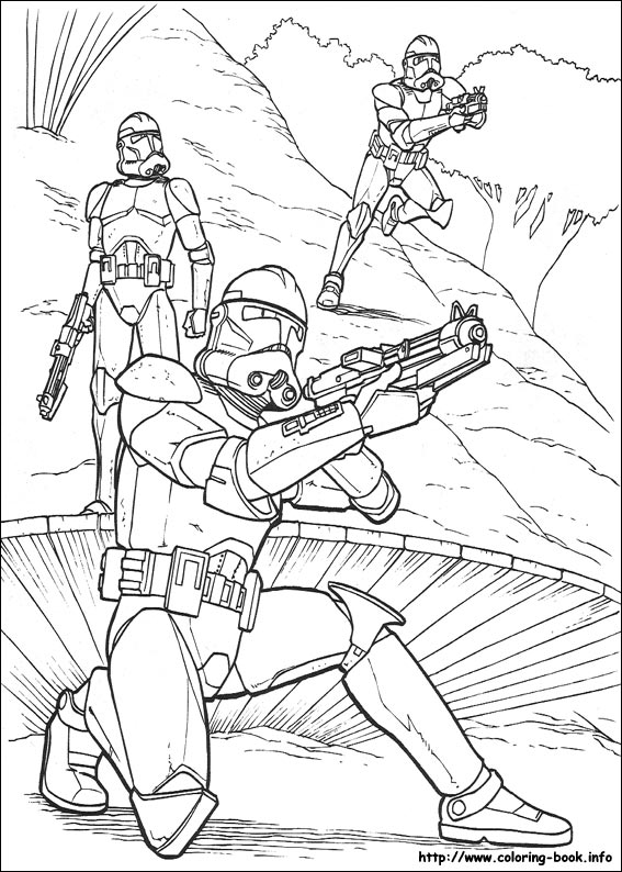 Space travel 14 Star wars coloring pages
