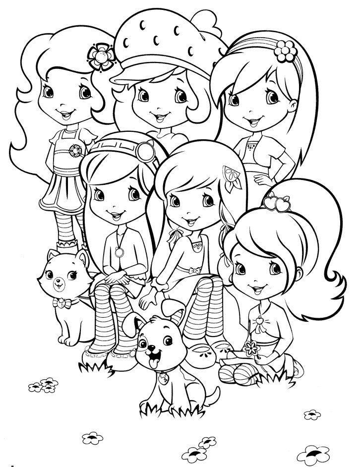 printable strawberry-shortcake coloring pages,printable,coloring pages