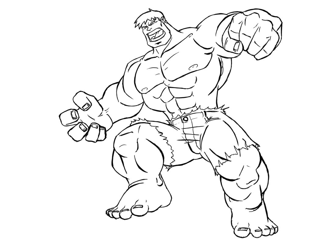 printable super hero coloring pages - photo#29