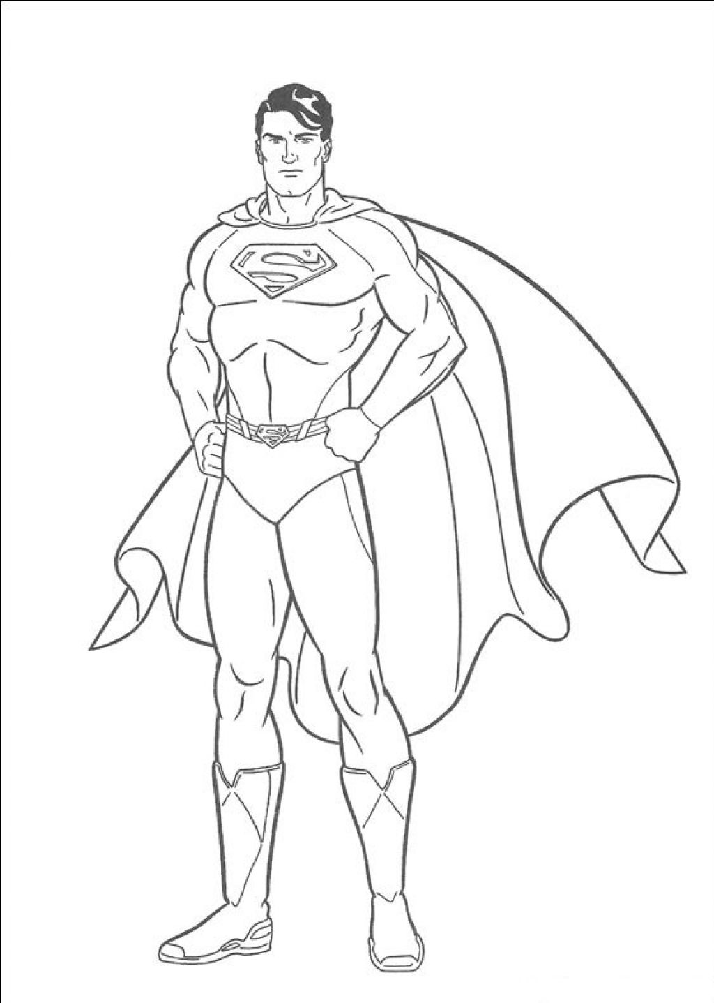Coloring Pages Super Man Coloring Page 14 kids coloring pages superman print color craft supermanprintablecoloring pages