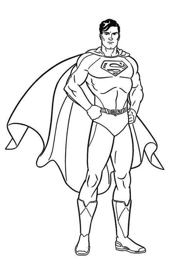 superman coloring page to printprintablecoloring pages
