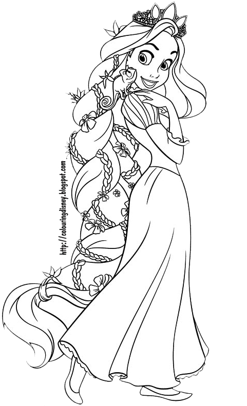 printable pictures of tangled page,printable,coloring pages