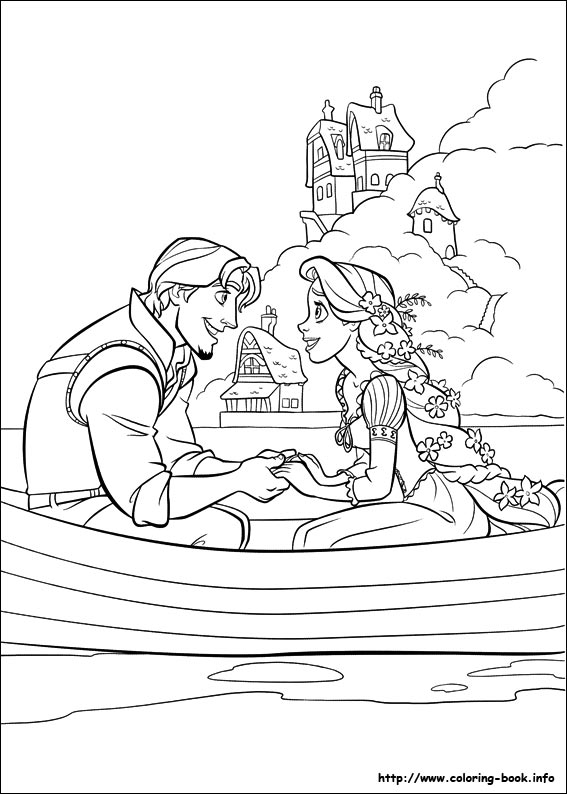 tangled coloring page,printable,coloring pages