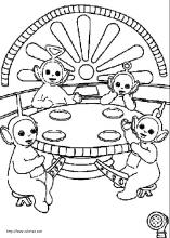 printable pictures of teletubbies page,printable,coloring pages