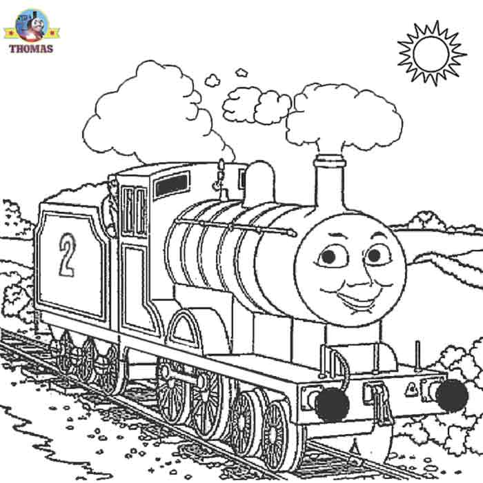 Thomas The Train Coloring Pages Free To Print Coloring Pages