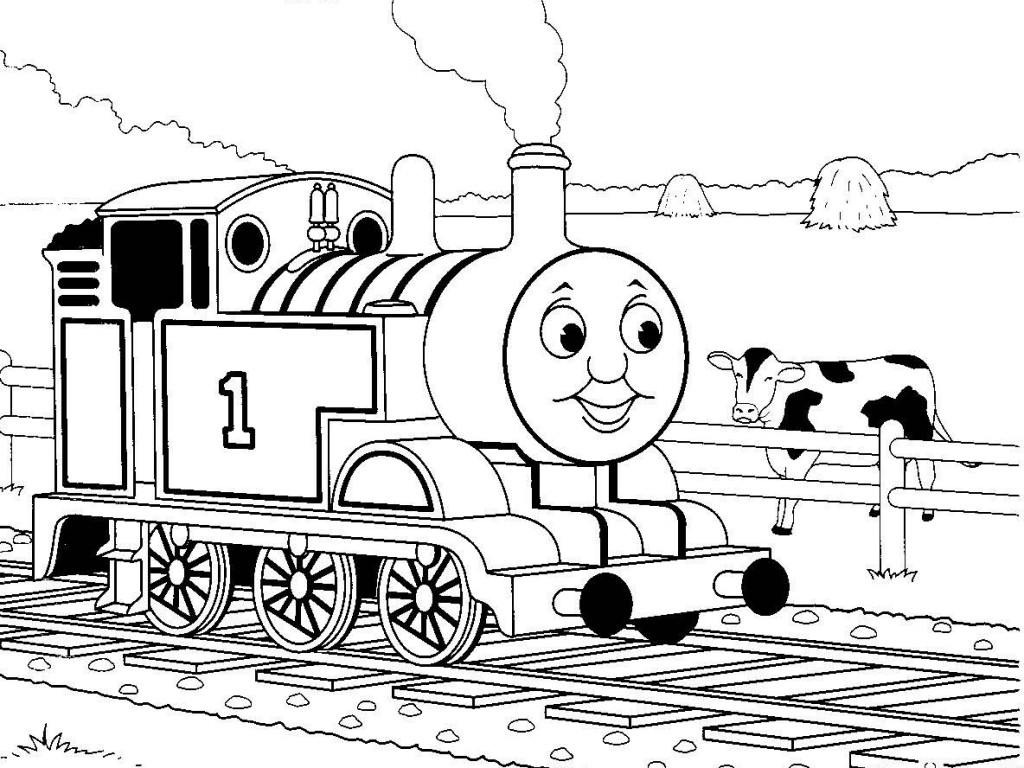 13 printable thomas the train coloring pages print color for Train coloring book pages