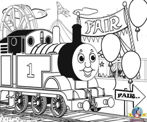 thomas-the-train coloring pages 12,printable,coloring pages
