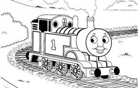 thomas-the-train coloring pages for kids,printable,coloring pages